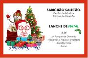 CRIANÇAS: Lanche de Natal no Sabichão Saltitão