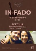 "MÚSICA: Joana Amendoeira & Bruno Fonseca - "" TERTÚLIA "" - IN FADO"