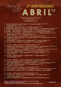 MÚSICA: CONCERTOS ABRIL 2015 - 3º ANIVERSÁRIO DO DUETOS DA SÉ - ALFAMA, LISBOA