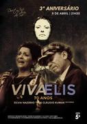 MÚSICA: Viva Elis 70 Anos - Sílvia Nazário & Cláudio Kumar