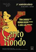 MÚSICA: CANTO HONDO - Tânia Cardoso, Rodrigo Crespo & João Luís