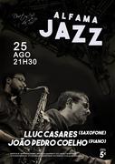MÚSICA: Lluc Casares & João Pedro Coelho - Concertos ALFAMA JAZZ