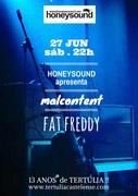 MÚSICA: Malcontent + Fat Freddy