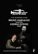 MÚSICA: Bruno Margalho & George Esteves - Concertos Alfama Jazz