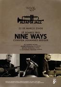 """MÚSICA: Zé Soares Trio """"Nine Ways"""" Convida Johannes Krieger - Concertos Alfama Jazz"""