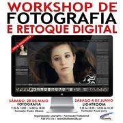 WORKSHOP: Fotografia & Retoque Digital (ADOBE Lightroom) Nível: Iniciação
