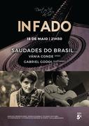 """MÚSICA: """"Saudades do Brasil..."""" - Vânia Conde & Gabriel Godoi - Concertos In Fado"""