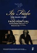 MÚSICA: Fado Pontual - Fernanda Paulo & Múcio Sá - Concerto  In Fado