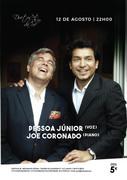PESSOA JÚNIOR & JOE CORONADO - CONCERTO 2 VOZES E 1 PIANO - NO DUETOS DA SÉ, ALFAMA, LISBOA