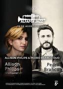 MÚSICA: Allison Philips e Pedro Branco Duo