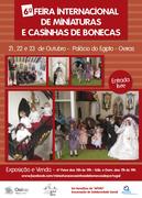 FEIRAS: 6.ª Feira Internacional de Miniaturas e Casinhas de Bonecas