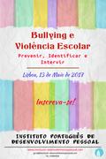 CURSO: Bullying e Violência Escolar: Prevenir, Identificar e Intervir
