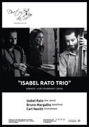 MÚSICA: Isabel Rato Trio - Isabel Rato, Bruno Margalho & Carl Nevitt