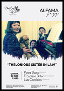 "MÚSICA: ""Thelonious Sister in Law"" - Paula Sousa Trio"