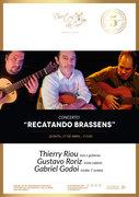 "MÚSICA: ""Recatando Brassens"" - Thierry Riou, Gustavo Roriz & Gabriel Godoi"