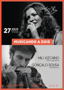 "MÚSICA: ""Musicando a Dois"" - Mili Vizcaíno & Gonçalo Sousa"
