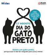 CAMPANHA: Dia do Gato Preto: MAR Shopping lança campanha de adoção