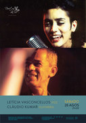 MÚSICA: Letícia Vasconcellos & Cláudio Kumar