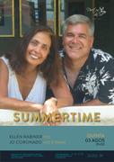 """""""SUMMERTIME"""" – ELLEN RABINER, JOE CORONADO - EM CONCERTO INTIMISTA NO DUETOS DA SÉ, ALFAMA, LISBOA"""