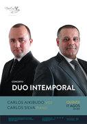 """MÚSICA: """"Duo Intemporal"""" – Carlos Aikibudo & Carlos Silva"""