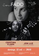 """MÚSICA: Concerto """"IN FADO"""" - Cristina Clara & Jon Luz"""