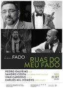 """MÚSICA: """"Ruas do Meu Fado"""" – Pedro Galveias, Sandro Costa, Ivan Cardoso & Carlos Mil-Homens"""