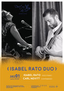 "MÚSICA: ""Isabel Rato Duo"" –  Isabel Rato & Carl Nevit"