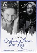 """MÚSICA: Cristina Clara & Jon Luz - Concerto """"In Fado"""""""