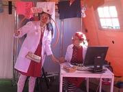 CRIANÇAS: Operação Nariz Vermelho receita alegria, risos e palhaçadas