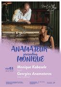 "MÚSICA: ""ANAMATEUR PRESENTING MONIQUE"" - Monique Kabasele & Georgios Anamateros"