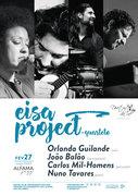 """MÚSICA: """"EISA PROJECT"""" - Orlanda Guilande & João Balão, Carlos Mil-Homens & Nuno Tavares"""