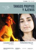 """MÚSICA: """"Tangos propios y ajenos"""" – Cláudia Levy & Fernanda Paulo"""