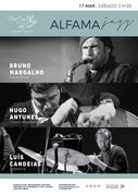 """MÚSICA: Concerto """"Alfama Jazz"""" - Bruno Margalho, Hugo Antunes & Luís Candeias"""
