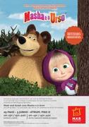 CRIANÇAS: Masha e o Urso visitam o MAR Shopping Matosinhos e trazem companhia