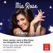MÚSICA: Mia Rose é a madrinha deste Natal no MAR Shopping Algarve