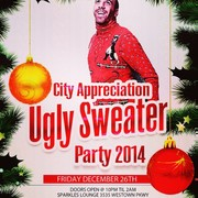 Ugly Sweater Party Team Strong Dj Cbostyles