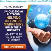 MLM GATEWAY Advertising Platform