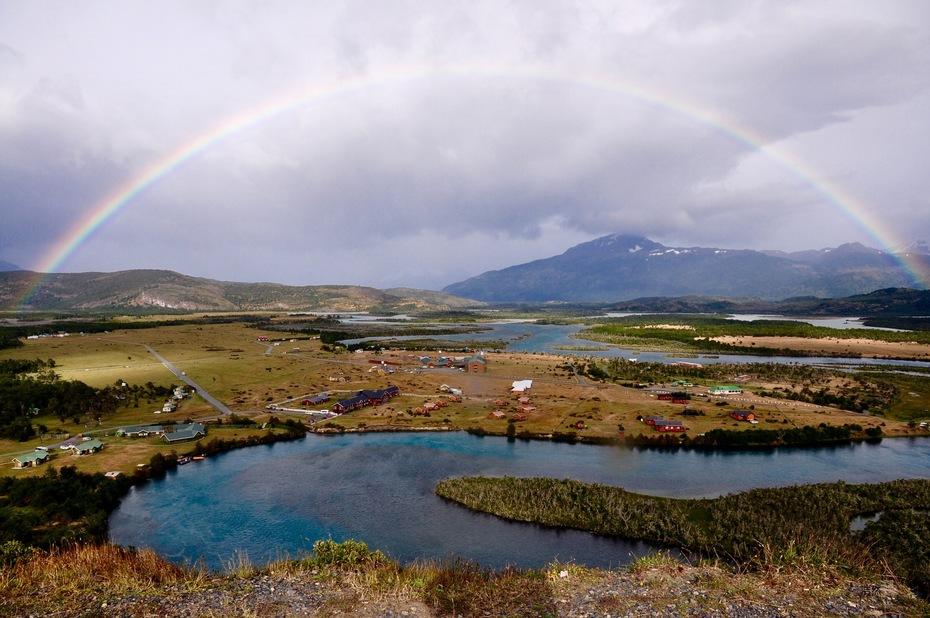 Somewhere under a rainbow