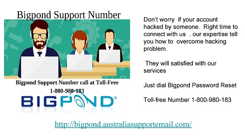 Obtain advice from Bigpond Support Number |1-800-980-183