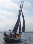 Lister under seil for første gang på lang tid - juni 2014