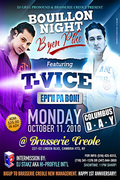 Epi'm Pa Bon Bouillon Night with T-Vice