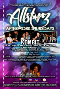 All-StarZ Caribbean After Work Thursdays at Kombit Bar & Restaurant - FREE ADMISSION!