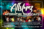 Caribbean After Work Thursdays @ Kombit Bar and Restaurant with Team Haitian All-StarZ
