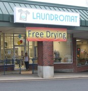 Grand Opening/Ribbon Cutting at Super Clean Laundromat