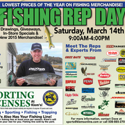 Annual Fishing Tackle Rep Day