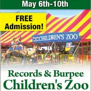 Records & Burpee Traveling Children's Zoo