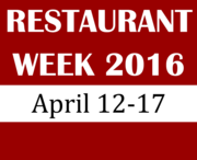 RESTAURANT WEEK: APRIL 21-27