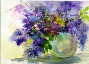 Watercolor Workshop with Anna - Lilacs