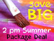 Summer 2pm Package deal