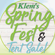 Klem's SpringFest and Tent Sale